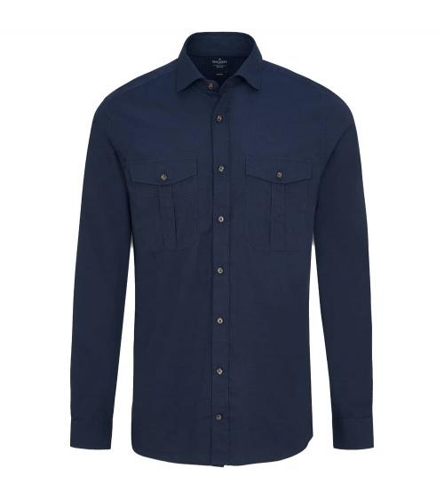 Hackett London Camisa Pockets Navy