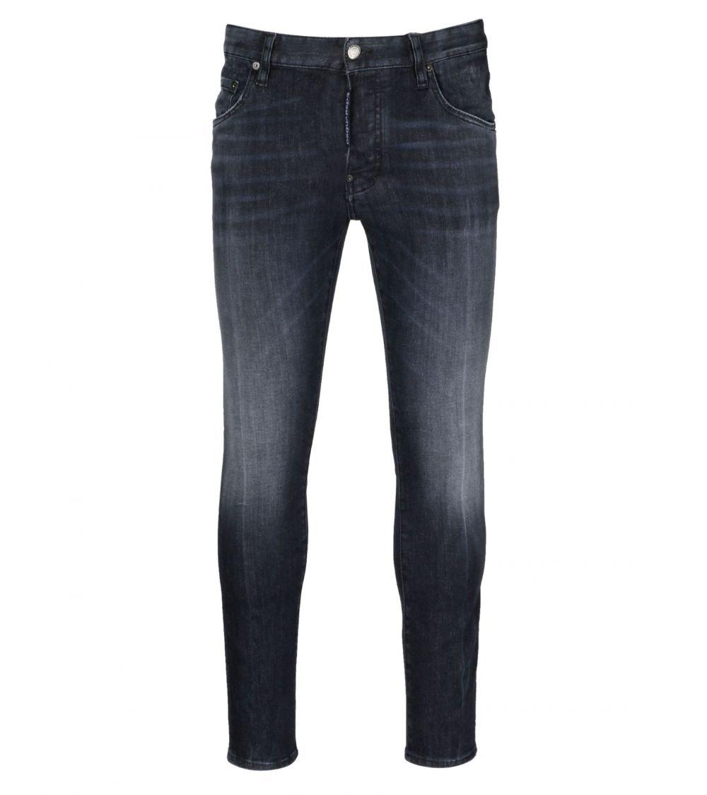 Dsquared2 Jeans Black Maxi Etiqueta