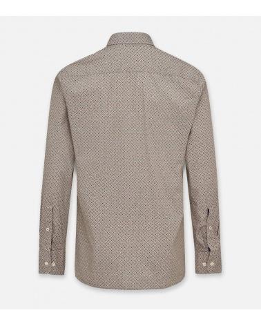 Hackett London Camisa Foulard Brown espalda