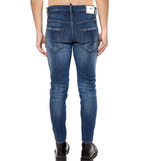 Dsquared2 Jeans Buttons detrás
