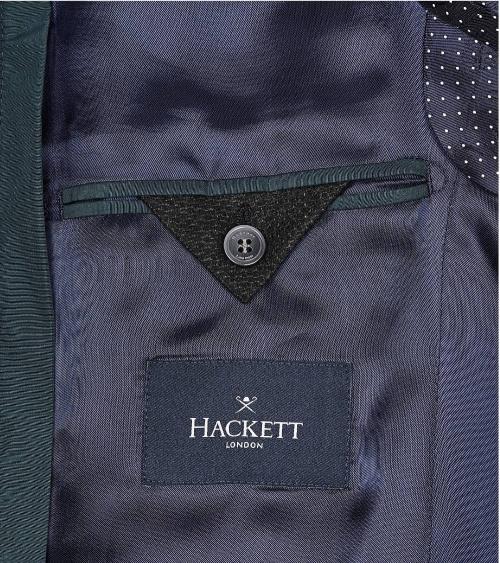 Hackett London Americana Cashmere Green interior