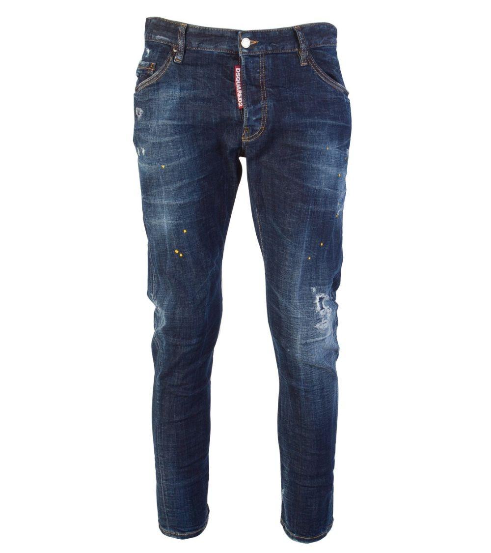 Dsquared2 Jeans Maxi Etiqueta