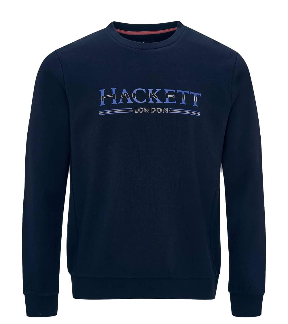 Hackett London Sudadera Navy Logo
