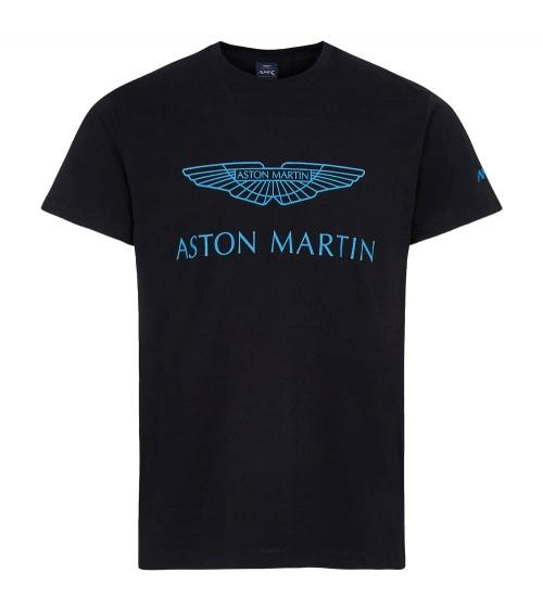 Hackett London Camiseta Negra Aston
