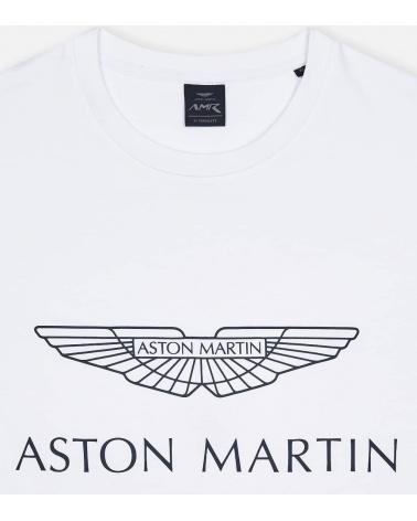 Hackett London Camiseta Blanca Aston detalle