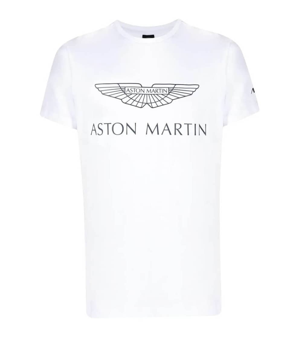 Hackett London Camiseta Blanca Aston