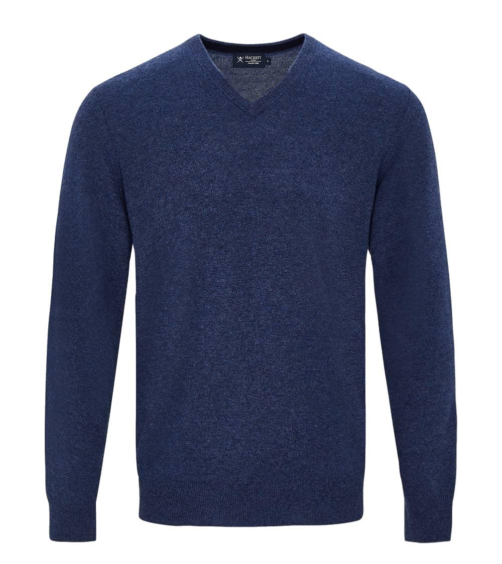 Hackett London Jersey Pico Blue