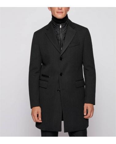 Hugo Boss Abrigo Hyde Grey modelo