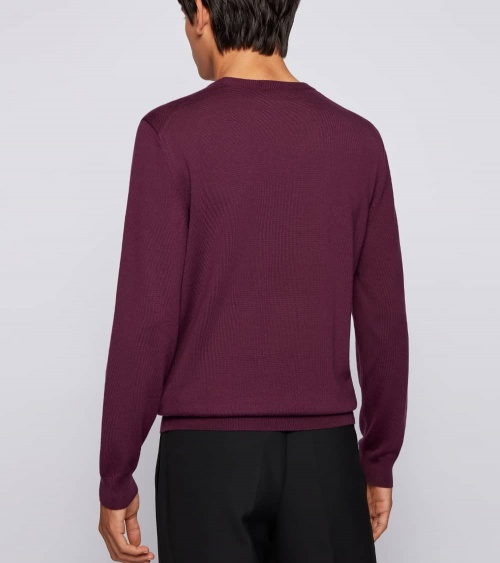 Hugo Boss Jersey Baram Purple espalda