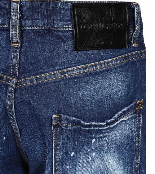 Dsquared2 Bermuda Jeans Icon detalle