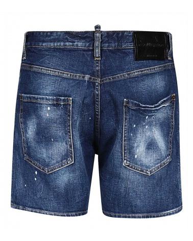 Dsquared2 Bermuda Jeans Icon detrás