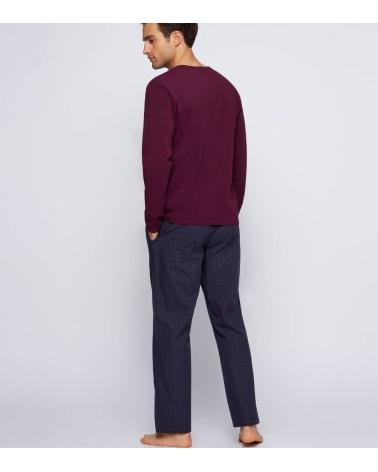 Hugo Boss Pijama Urbna Purple detrás