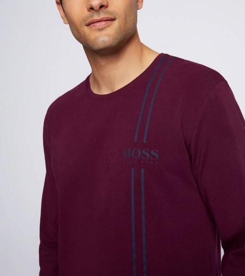 Hugo Boss Pijama Urbna Purple detalle