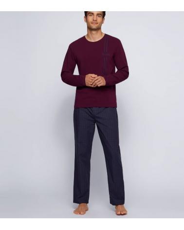 Hugo Boss Pijama Urbna Purple modelo