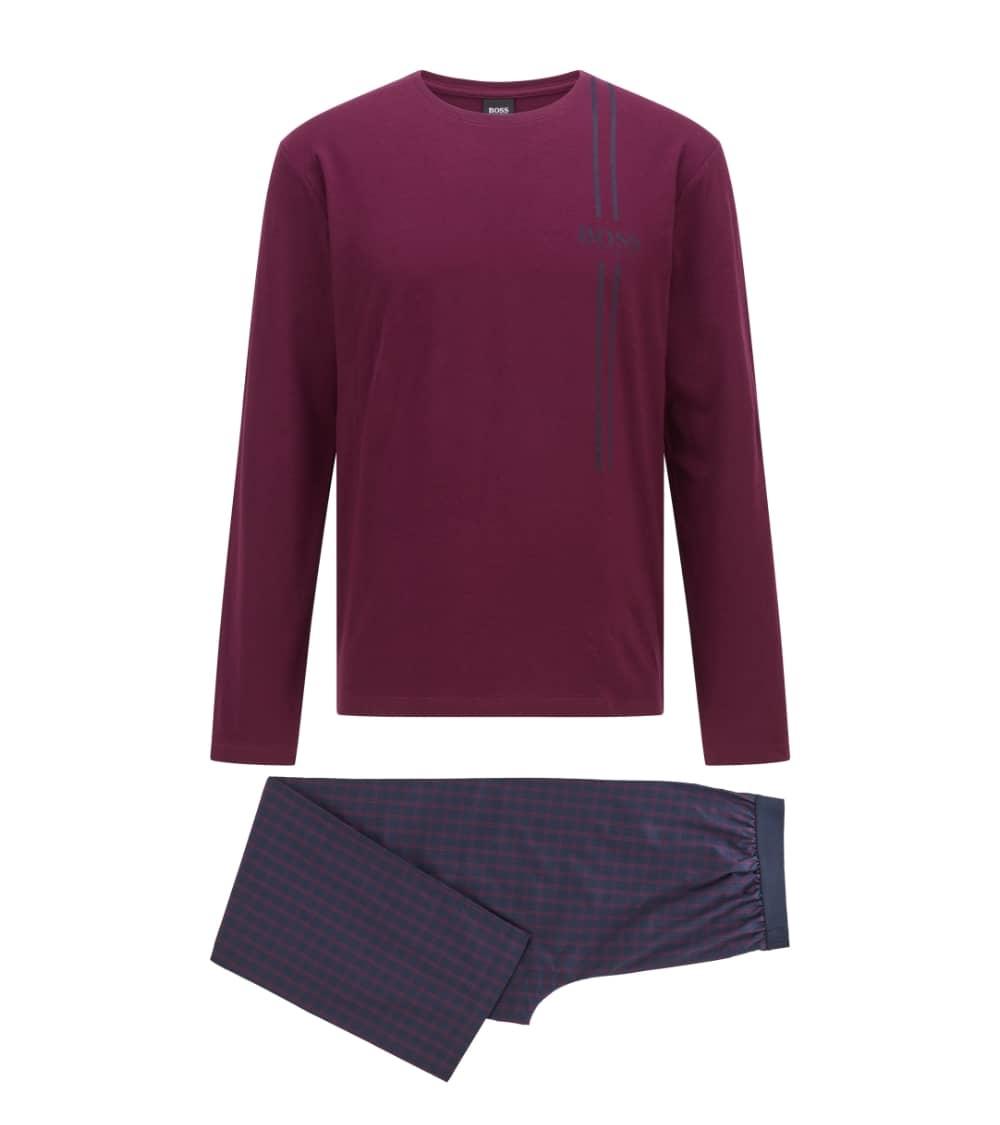 Hugo Boss Pijama Urbna Purple