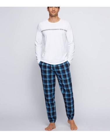 Hugo Boss Pijama Nates Blue White modelo