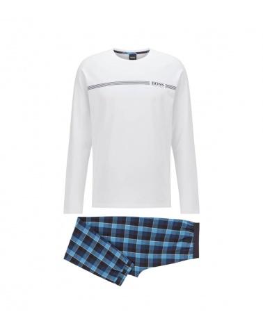 Hugo Boss Pijama Nates Blue White