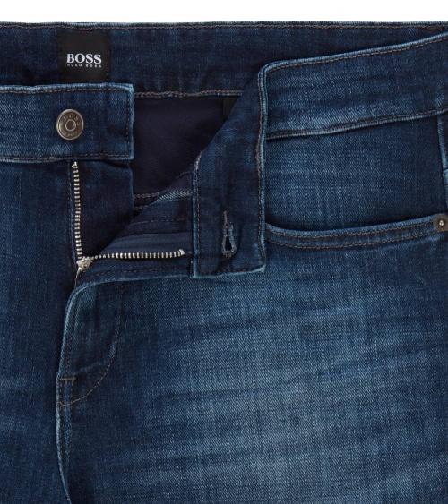 Hugo Boss Jeans Delaw Bright Blue detalle