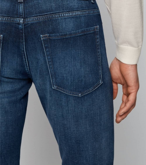 Hugo Boss Jeans Delaw Bright Blue bolsillo