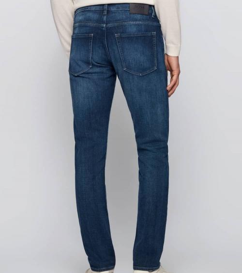 Hugo Boss Jeans Delaw Bright Blue detrás