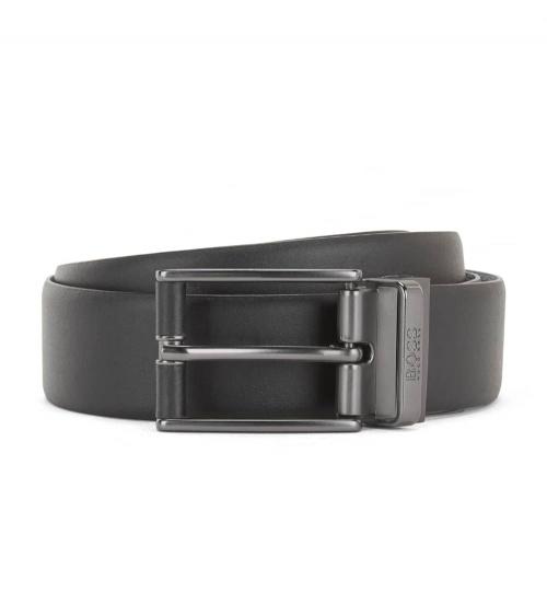 Hugo Boss Cinturón Ofelix Black hebilla