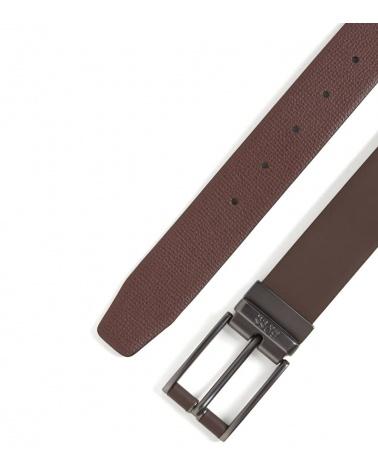 Hugo Boss Cinturón Reverse Brown punta