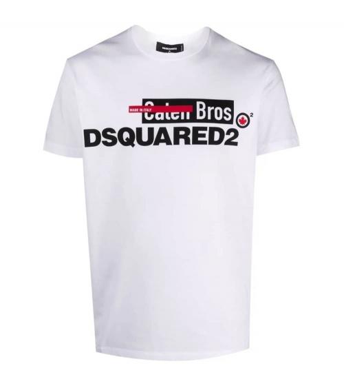Dsquared2 Camiseta White Caten Bros