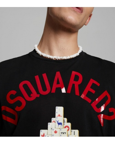 Dsquared2 Camiseta Mahjong logo