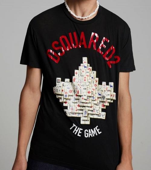 Dsquared2 Camiseta Mahjong  modelo