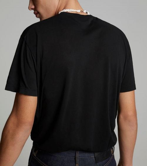 Dsquared2 Camiseta Mahjong  detrás