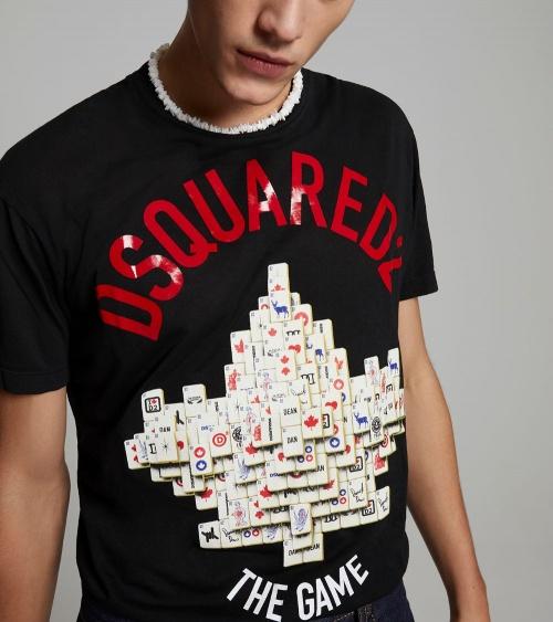Dsquared2 Camiseta Mahjong  frontal