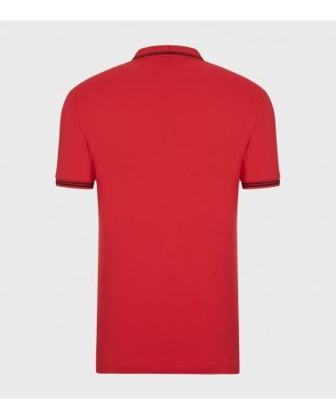 Emporio Armani Polo Rojo Class detrás
