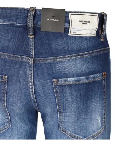 Jeans Buttons Dsquared2 detalle
