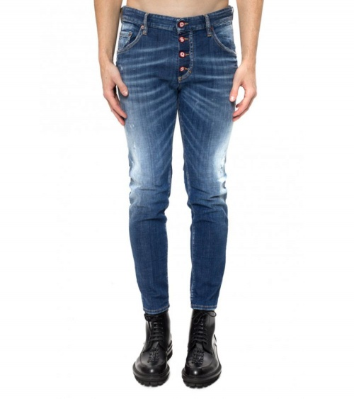 Jeans Buttons Dsquared2 modelo