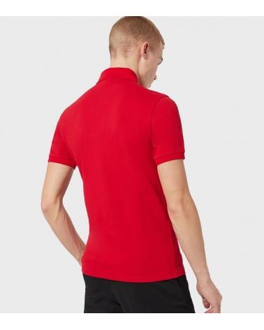 Emporio Armani Polo Rojo Liso espalda