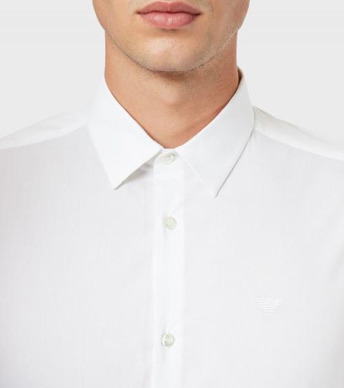 Emporio Armani Camisa Elástica botones