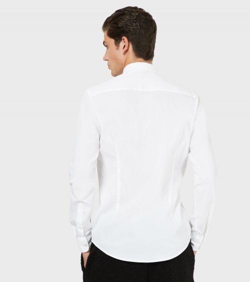 Emporio Armani Camisa Elástica modelo espalda