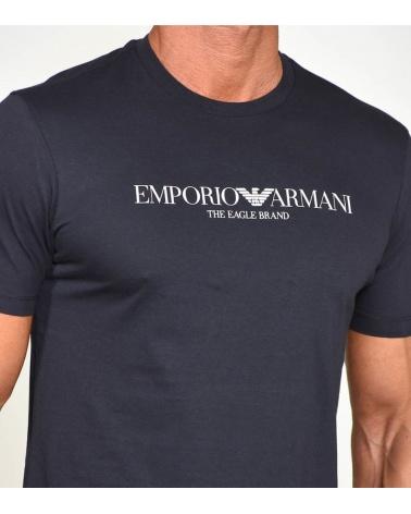 Emporio Armani Camiseta Eagle Marino detalle