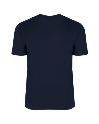 Emporio Armani Camiseta Eagle Marino detrás