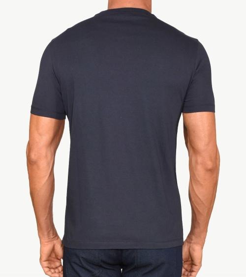 Emporio Armani Camiseta Eagle Marino espalda