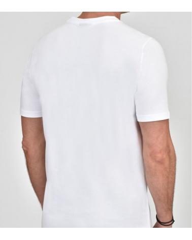 Emporio Armani Camiseta Maxi Logotipo espalda