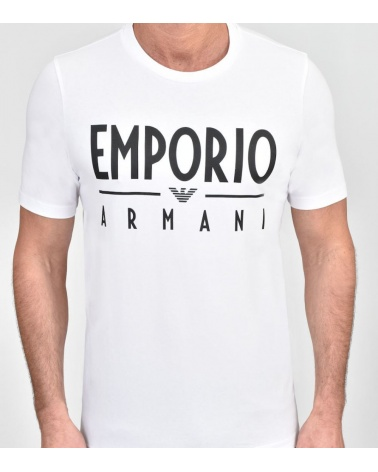 Emporio Armani Camiseta Maxi Logotipo modelo