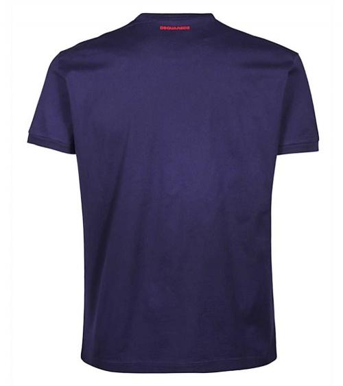 Camiseta Circulo Dsquared2 detrás