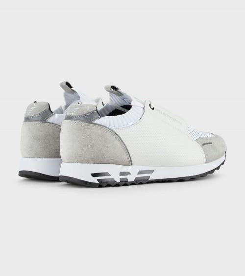 Emporio Armani Sneaker Blancas detrás