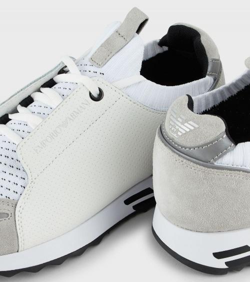 Emporio Armani Sneaker Blancas detalle