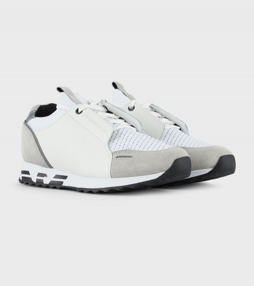 Emporio Armani Sneaker Blancas lateral