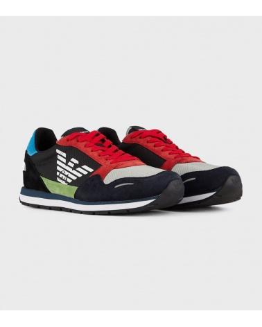 Emporio Armani Sneaker Multicolor lateral