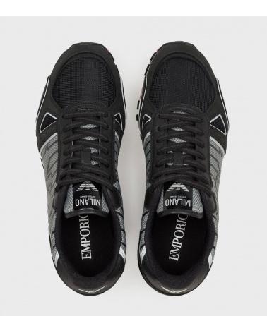 Emporio Armani Sneaker Patchwork superior