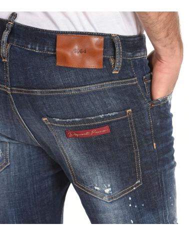 Dsquared2 Jeans Skater 1964 modelo detalle