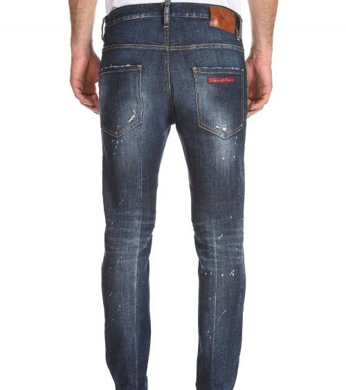 Dsquared2 Jeans Skater 1964 modelo detrás